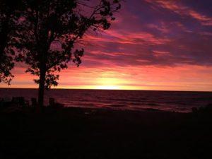 sunrise at beckville